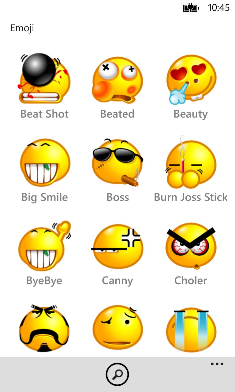 emoji keys chat - sms mail emoti emoticons smile