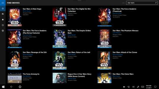 Moviequeue screenshot 1