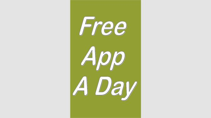 Get FREE APP A DAY - Microsoft Store