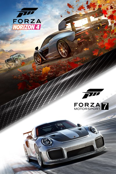 Forza Horizon 4 and Forza Motorsport 7 Bundle