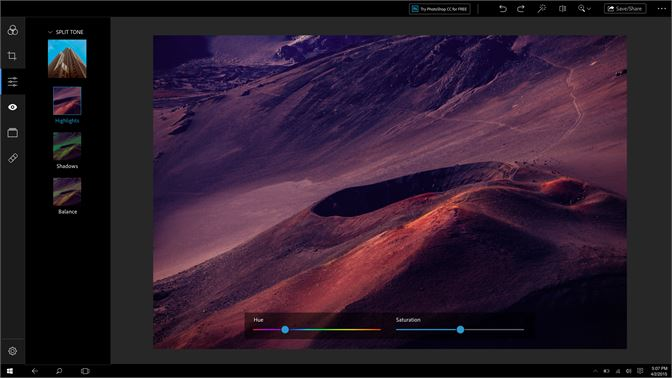 Get Adobe Photoshop Express: Image Editor, Adjustments
