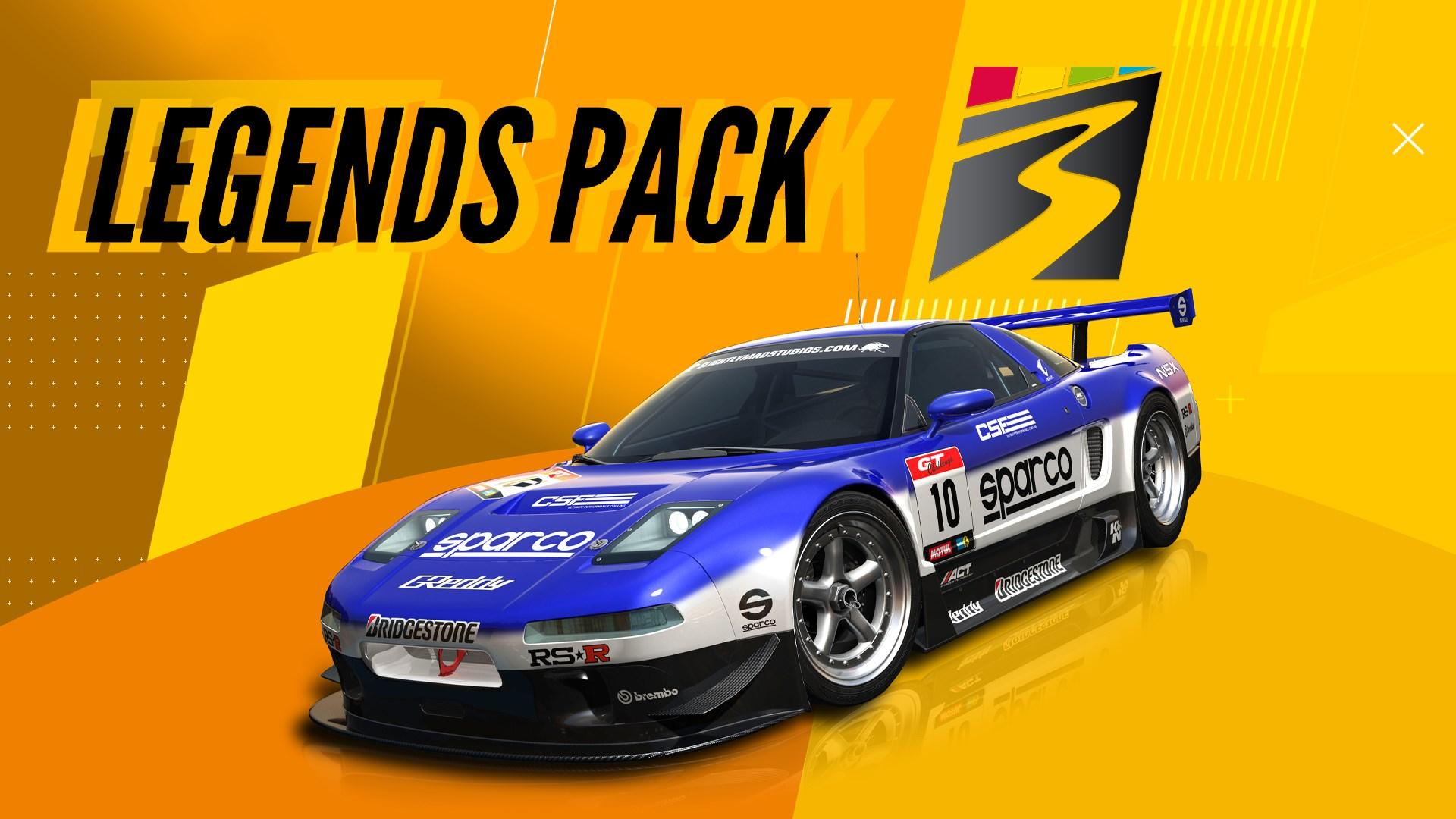 Project CARS 3: Legends Pack