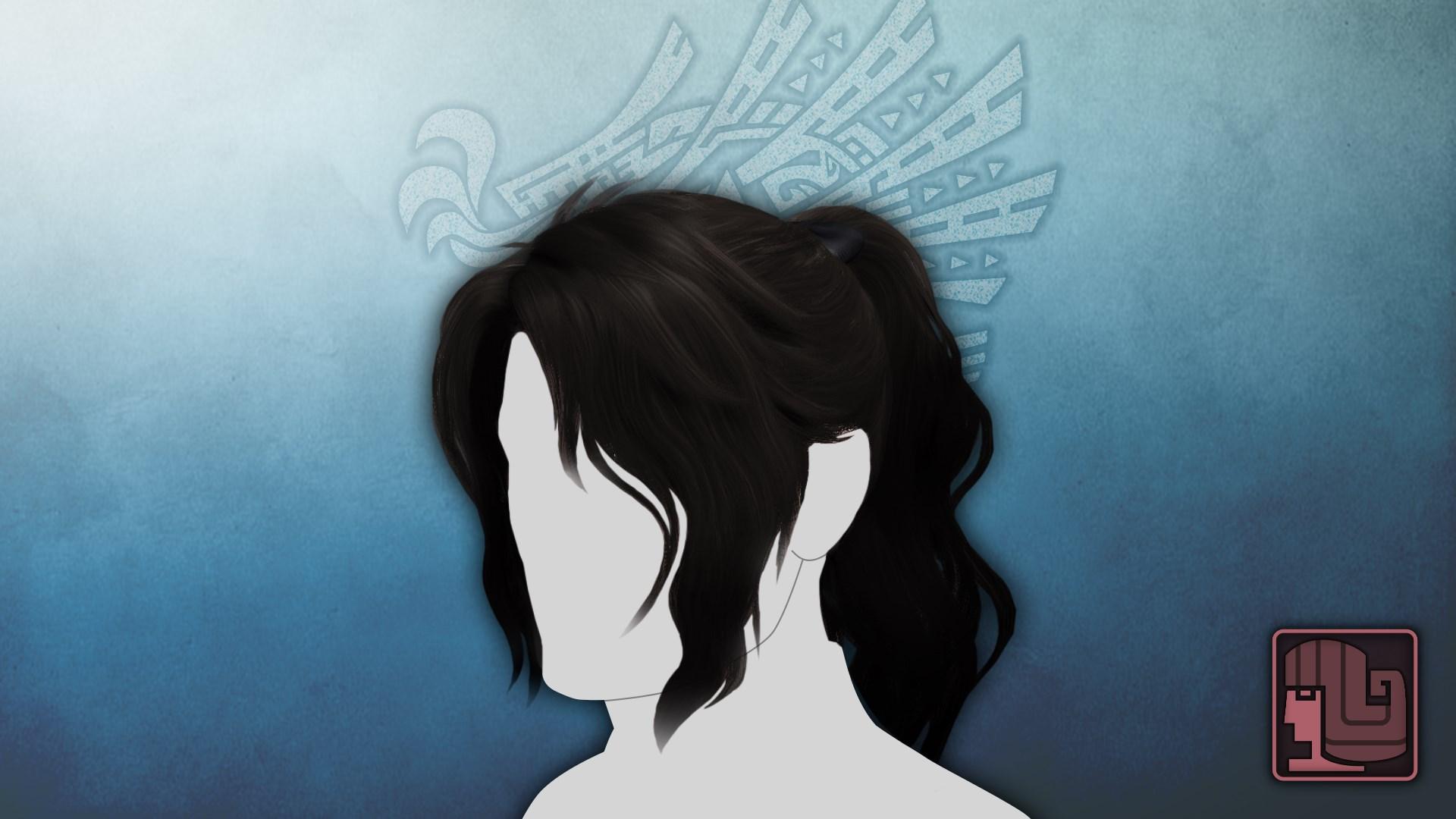 Hairstyle: Mysterious Samurai