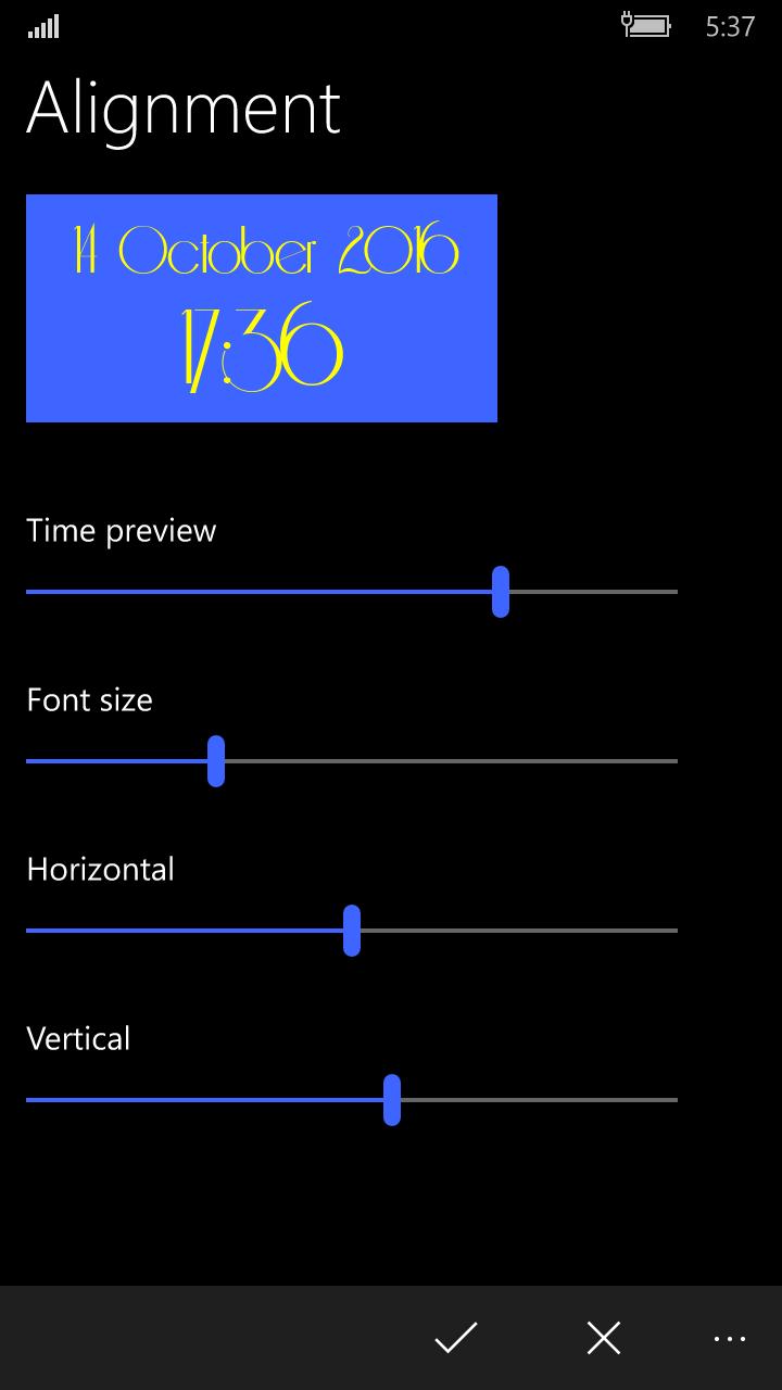 Start Screen Clock