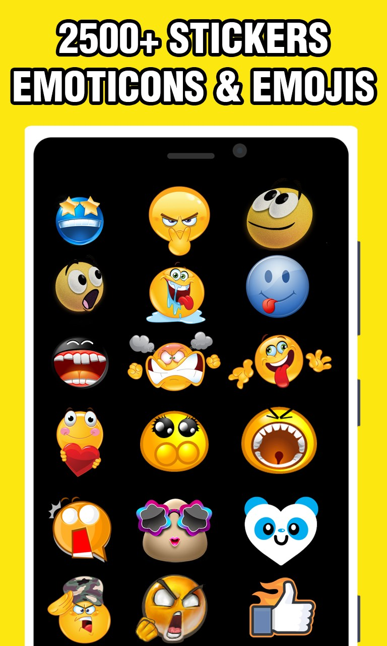 Stickers & Emojis 2500+ Ultimate Collection