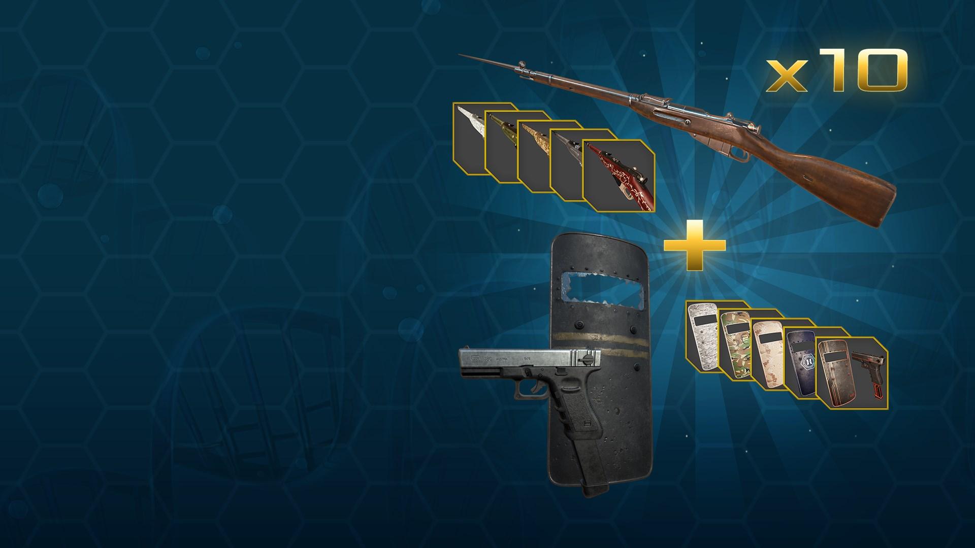 Weihnachtsschrecken-Waffen-Paket