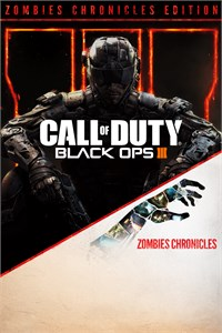 Carátula para el juego Call of Duty: Black Ops III - Zombies Chronicles Edition de Xbox 360