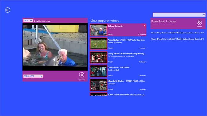 Get MP4/MP3 - Downloader - Microsoft Store