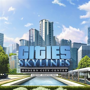 Cities: Skylines - Content Creator Pack: Modern City Center Xbox One