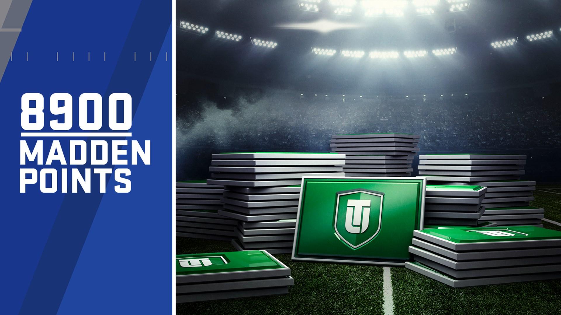 8900 очков Ultimate Team для Madden NFL 18