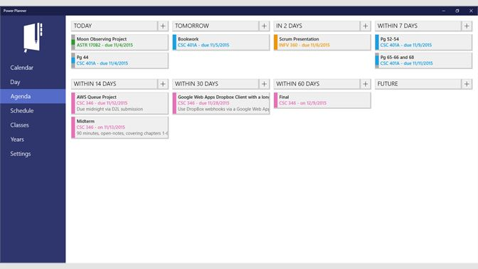 Get Power Planner - Microsoft Store