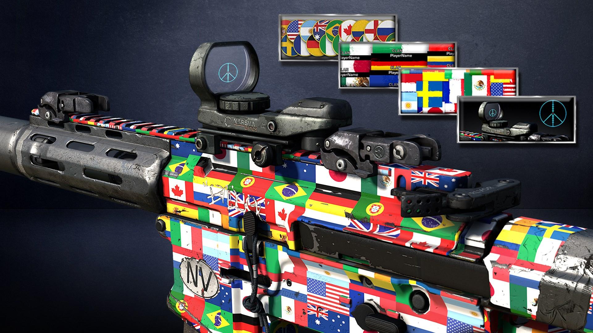 Call of Duty®: Ghosts - Pack Drapeaux du monde