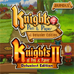 Knights of Pen and Paper Bundle Logo