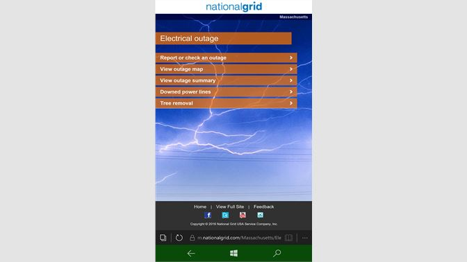 Get Power Outage Report NG8 1 - Microsoft Store