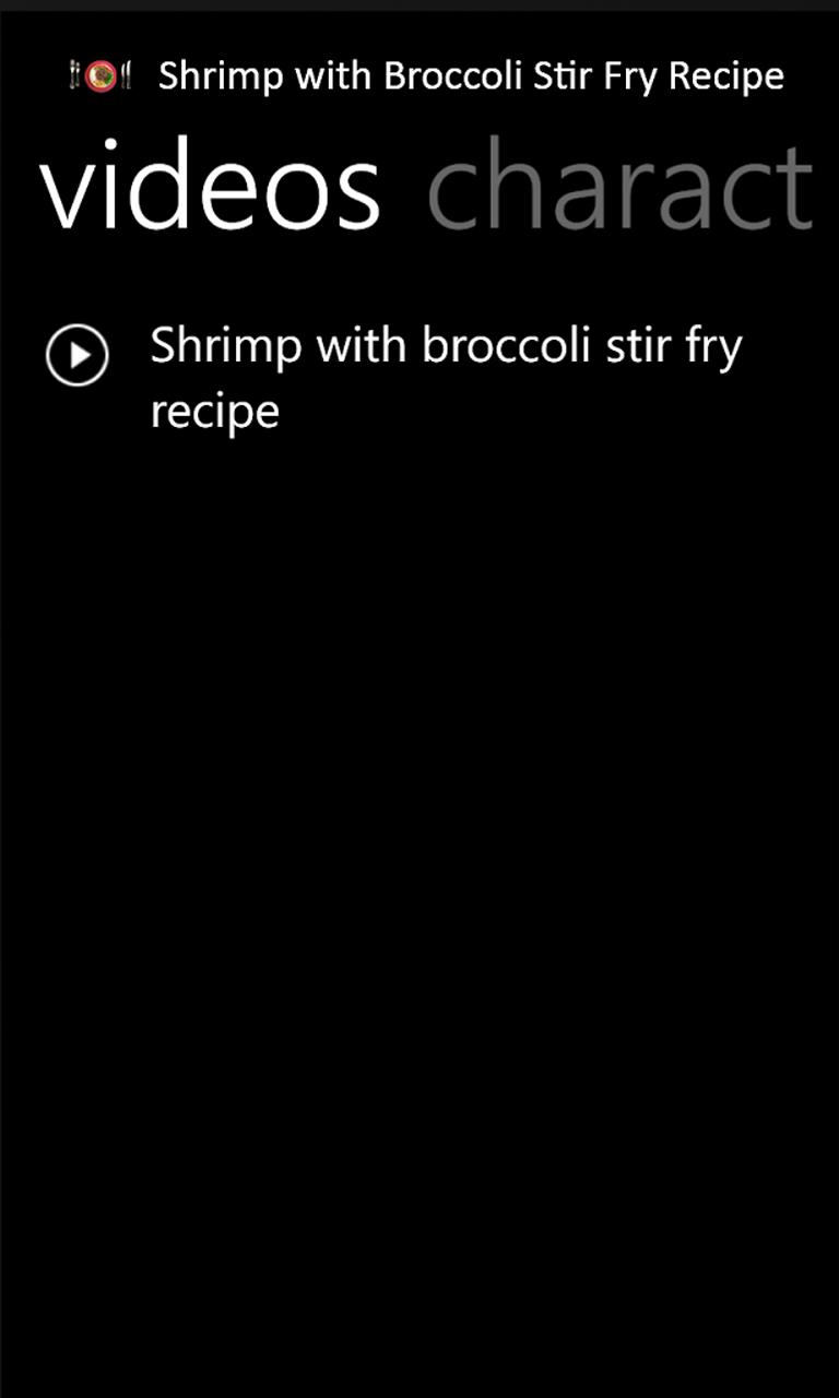 Recipe Shows
