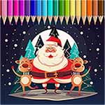 Christmas Coloring Book Pages For Kids