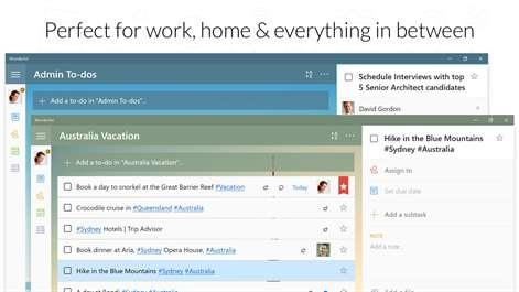 Wunderlist: To-Do List & Tasks Screenshots 1