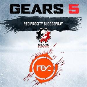 Jato de Sangue com cores da Reciprocity Xbox One