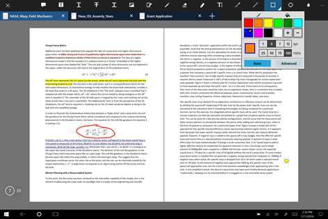 Get xodo pdf reader editor microsoft store screenshot annotate any pdf highlight or strikeout text insert text or attach ccuart Choice Image