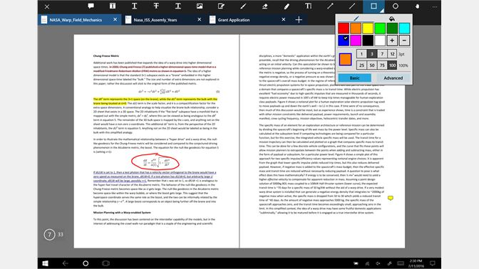Baixar xodo pdf reader editor microsoft store pt br captura de tela annotate any pdf highlight or strikeout text insert text fandeluxe Images