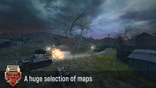 Battle Tanks: Legends of World War II 3D Tank Games screenshot 4