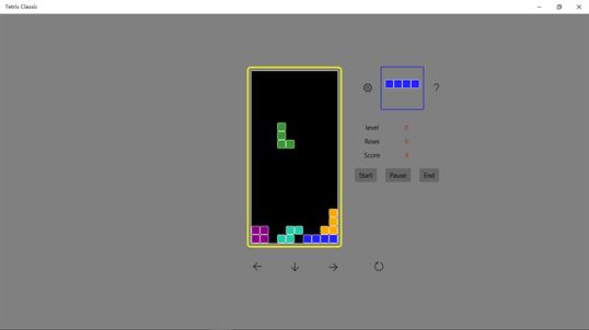 Tetris Classic for Windows 10 PC free download