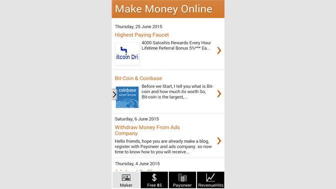 Get Online Money Maker - Microsoft Store