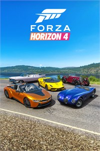 Forza Horizon 4 Open Top Car Pack