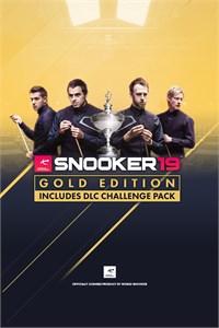 Carátula para el juego Snooker 19 Gold Edition de Xbox 360
