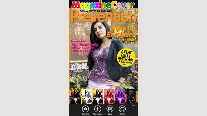 Get Magazine Cover Photo Frame - Microsoft Store