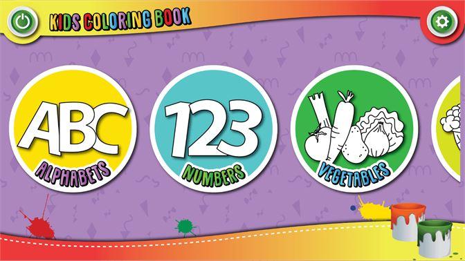 çocuklar Boyama Kitabı Boyama Eğlenceli Al Microsoft Store Tr Tr