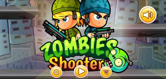 Zombie Shooter Runner screenshot 1