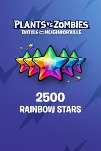 Plants vs. Zombies: Battle for Neighborville™ – 2000 (+500 Bonus) Rainbow Stars