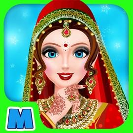 Get Indian Wedding Dressup & Makeover - Fun Beauty Makeup ...