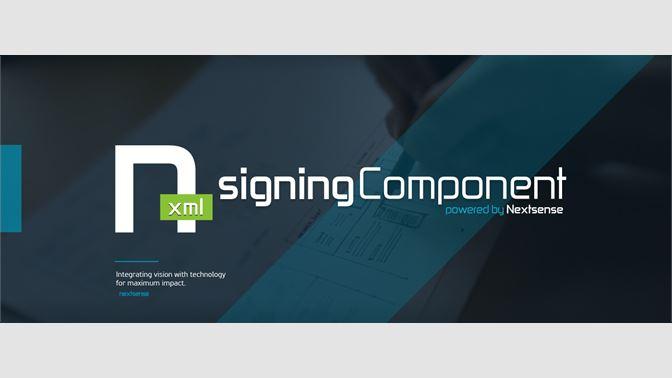 get nextsense xml signing component microsoft store