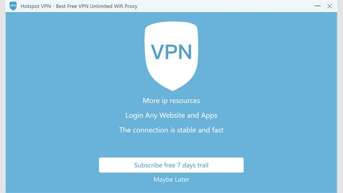 Get Hotspot VPN - Best Free VPN & Unlimited Wifi Proxy