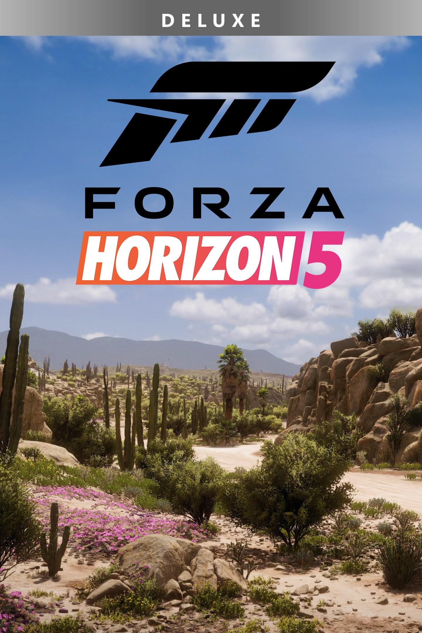 Forza Horizon 5 Deluxe Edition box shot