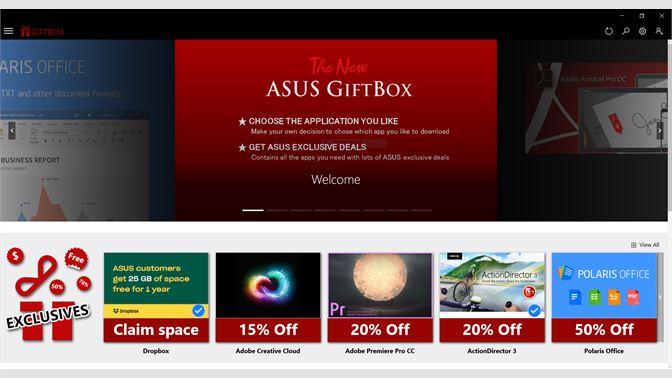 Get ASUS GIFTBOX - Microsoft Store