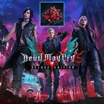 Devil May Cry 5 Deluxe Edition (with Red Orbs) Logo
