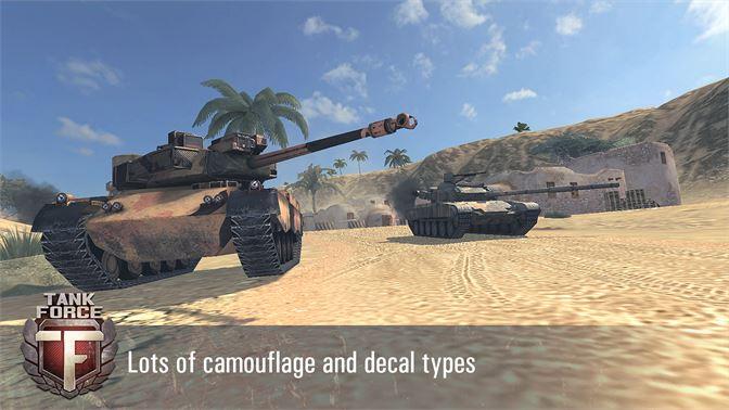 Get Tank Force: 3D Tank Games Online - Microsoft Store