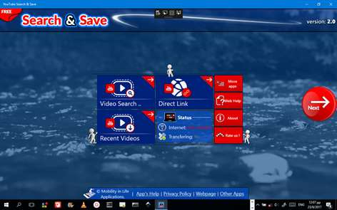Search+Save Online Videos Screenshots 1