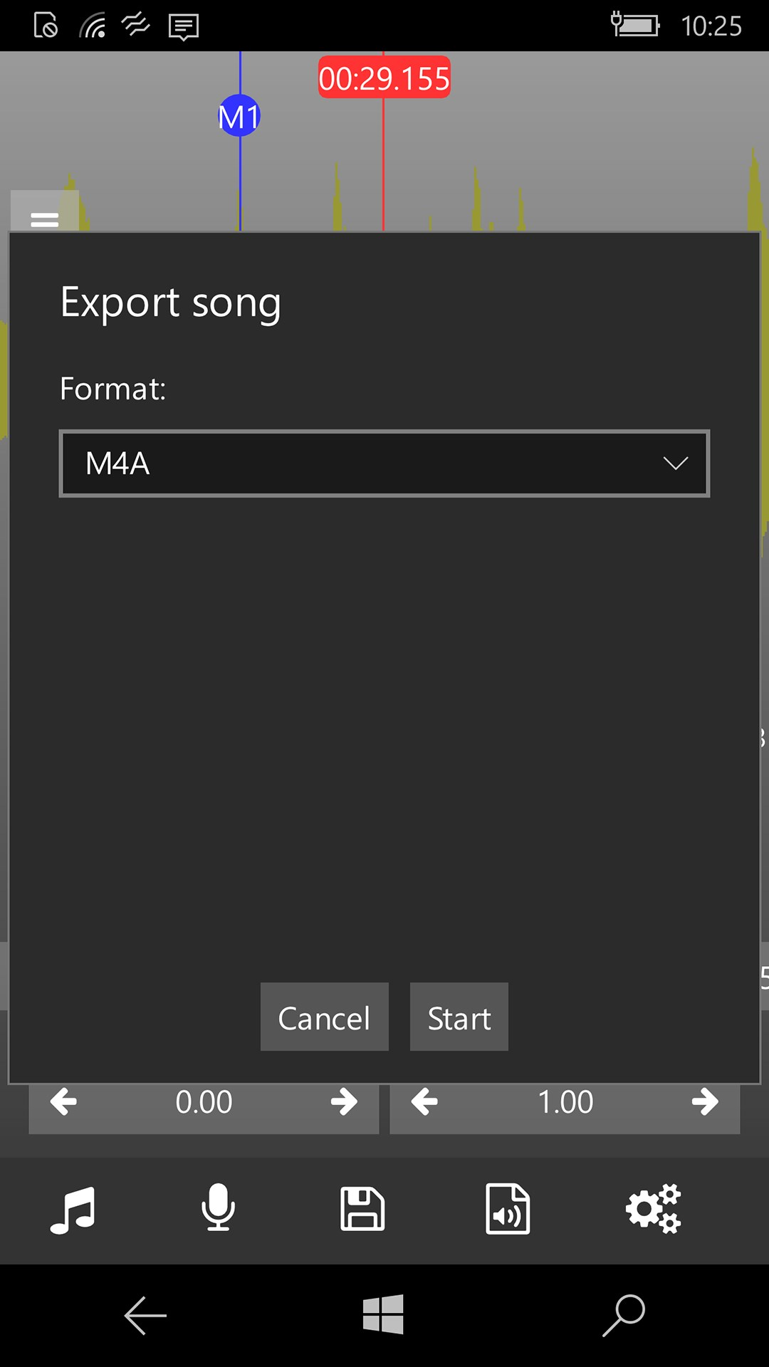 Audio Pitch and Speed Player for Windows 10