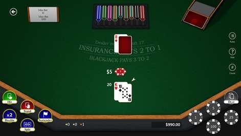 Blackjack Master 3 Screenshots 1