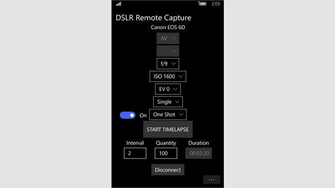Get DSLR Remote Capture for Canon EOS - Microsoft Store