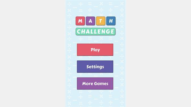 Get Math Challenge - Fast Math Practice Game - Microsoft