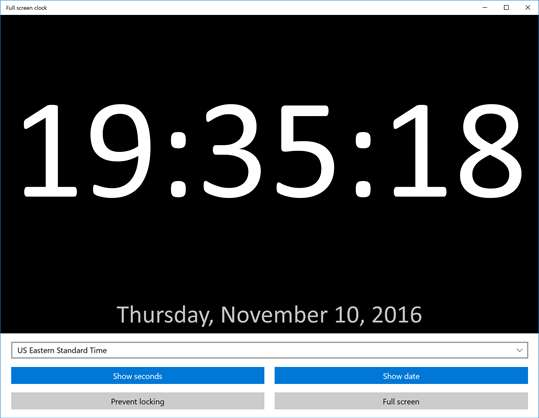 Full Screen Clock For Windows 10 Pc Free Download Best