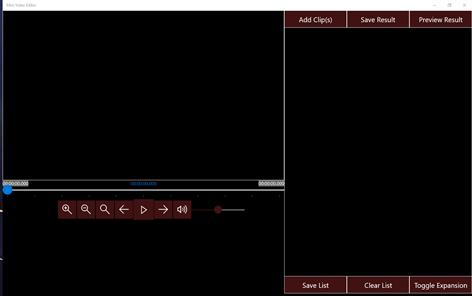 Mini Video Editor Screenshots 1