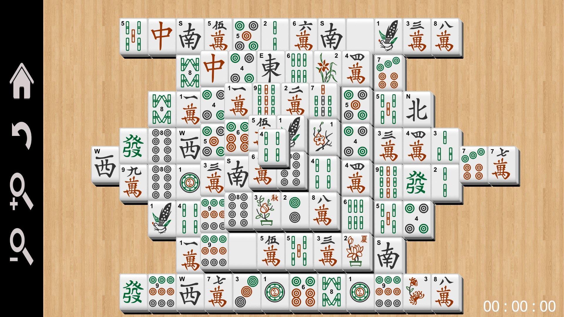 Windows Mahjong