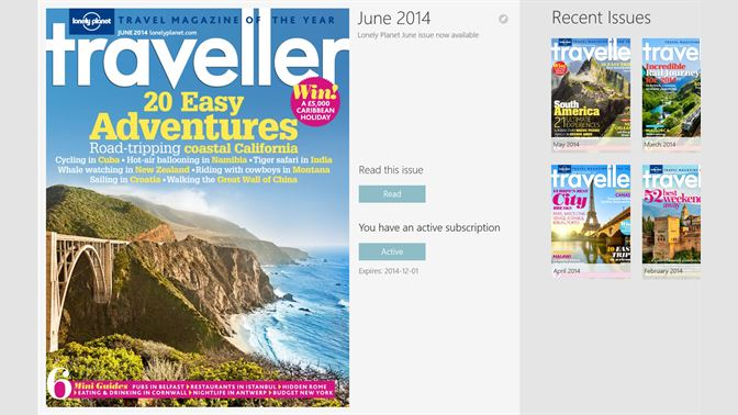 Get Lonely Planet Traveller - Microsoft Store