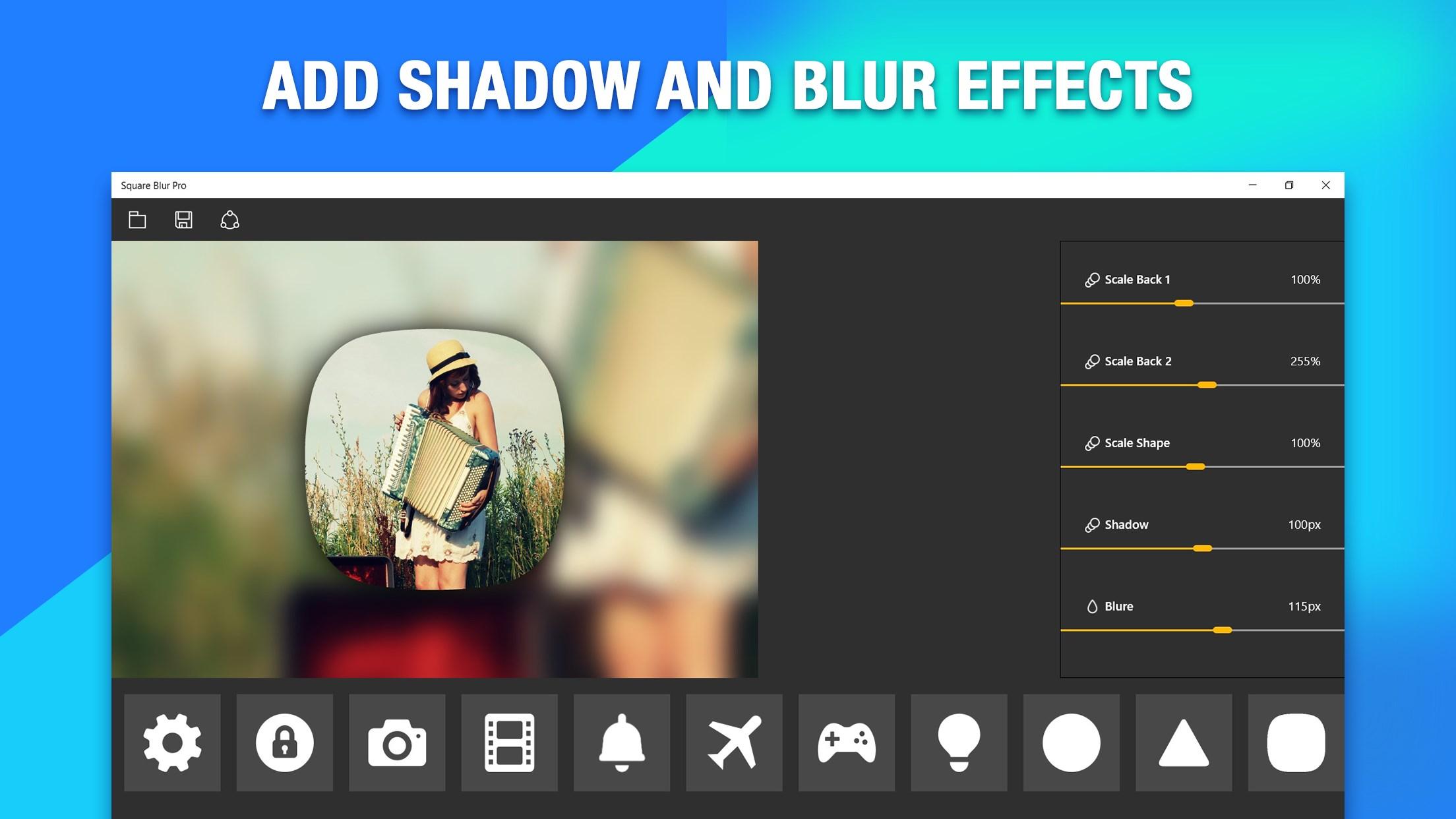Square Blur Pro